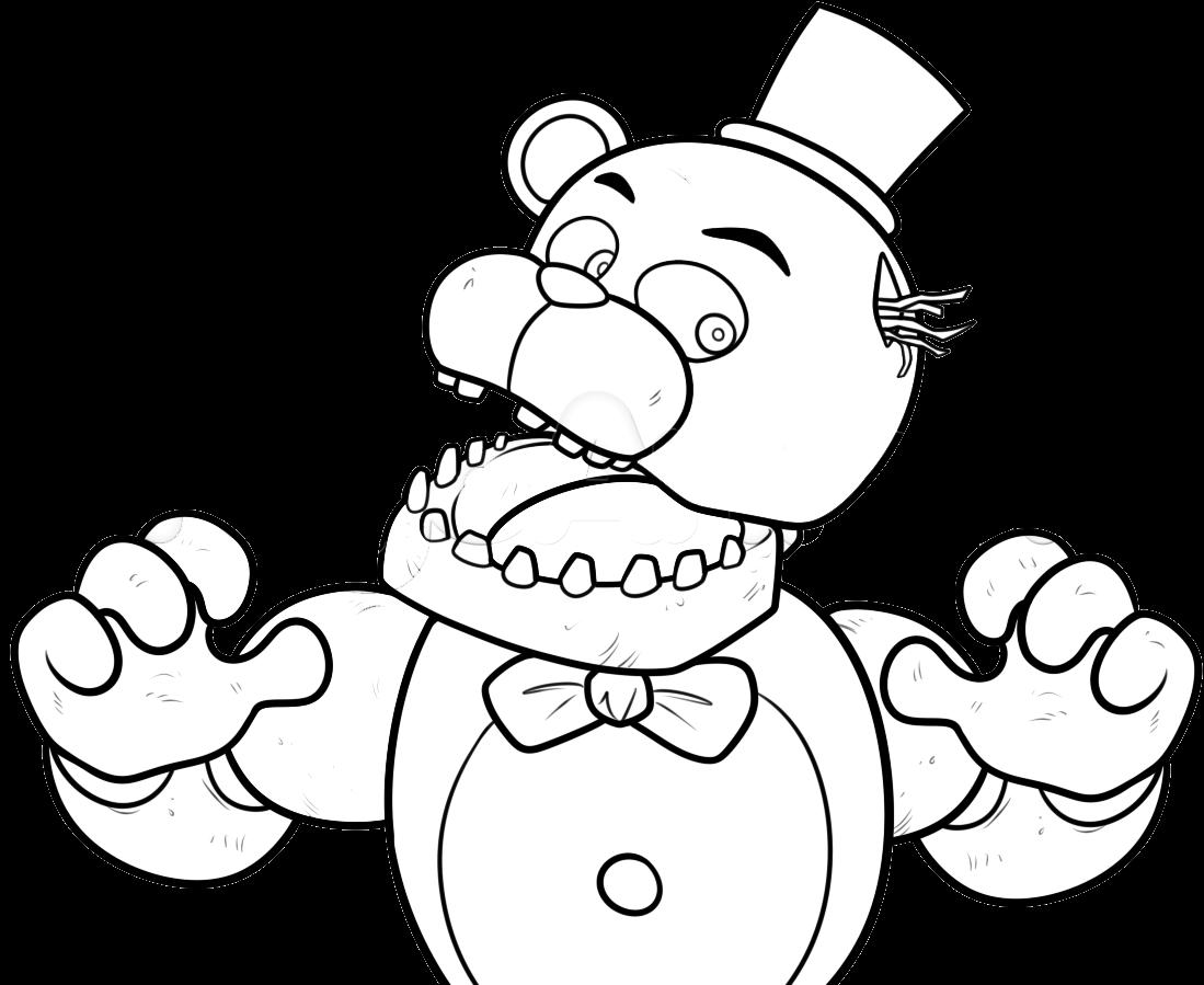 fnaf 3 phantom animatronics coloring pages | COLOREAR PHANTHOM FREDDY