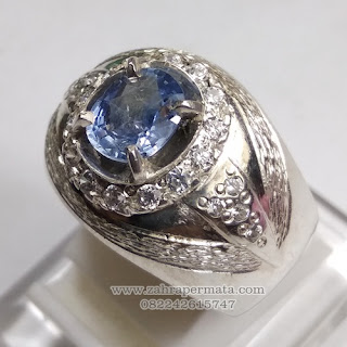 Batu Permata Blue Sapphire Ceylon - ZP 1148