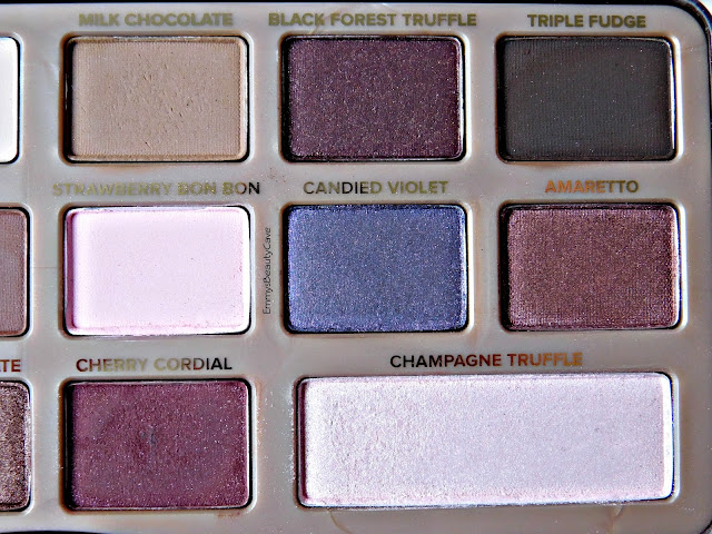 Too Faced Chocolate Bar Palette Shades