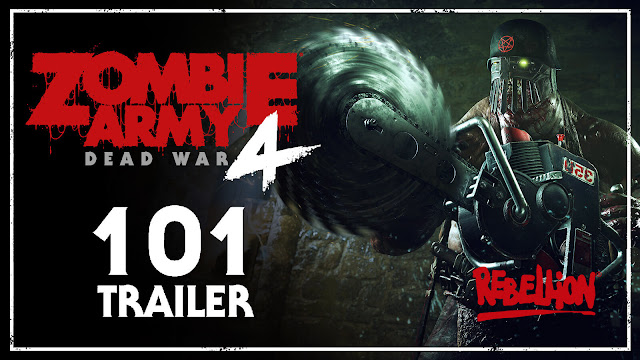 zombie army 4 dead war overview trailer release date february 2020 pc ps4 xb1 rebellion developments