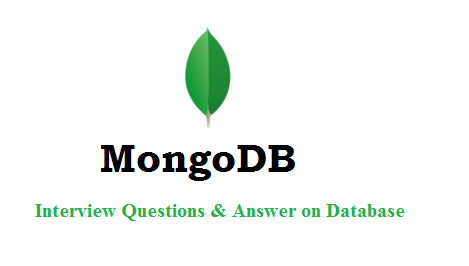 MongoDB Interview Questions and Answer on Database