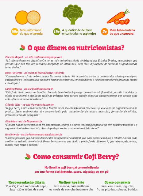 goji berry fruta