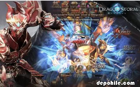 Dragon Storm Fantasy v1.2.0 Ölümsüzlük Hileli Apk İndir 2020