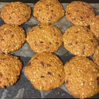 These chewy coconut chocolate chip cookies are easy and quick to make. You taste the soft chocolate chips with every bite you take. They are healthy and you won't regret making them.  Soft and chewy coconut cookies.