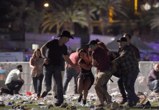 Jumlah Korban Penembakan Las Vegas Bertambah, 58 Tewas