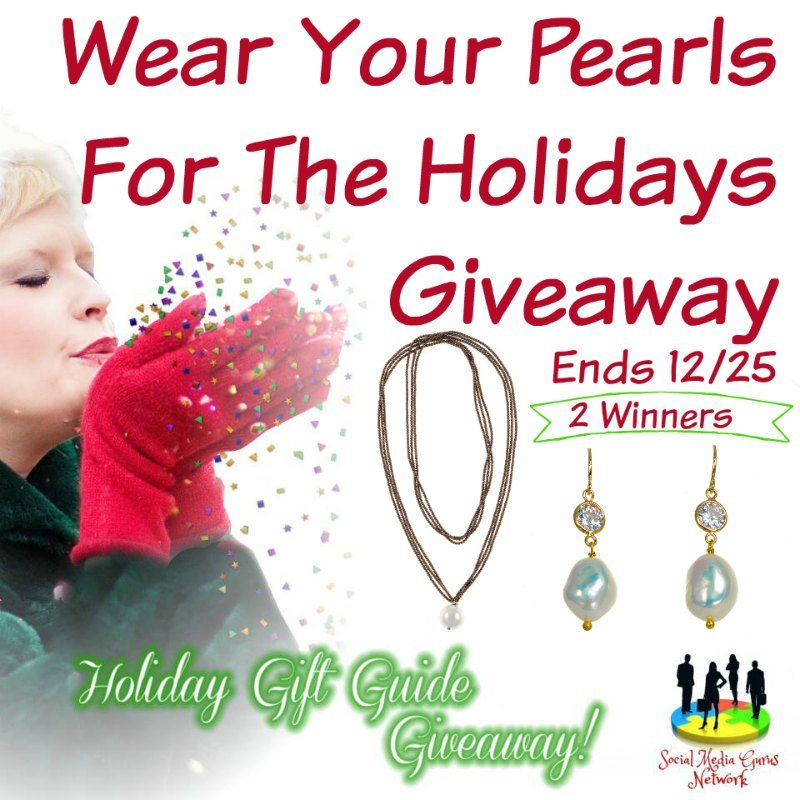 Wear Your Pearls For The Holidays