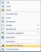 format text effect jonarendra