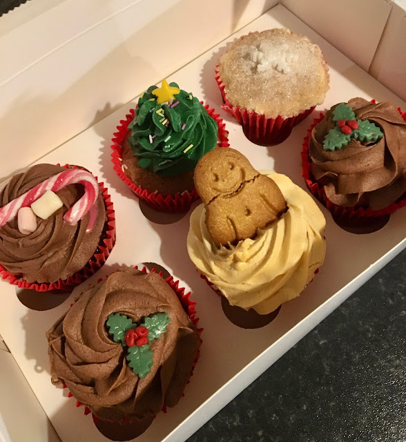 Christmas cupcakes from Ellephant Vegan Bakery, Teesside