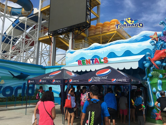 WaterWorld Cebu Rental Booths