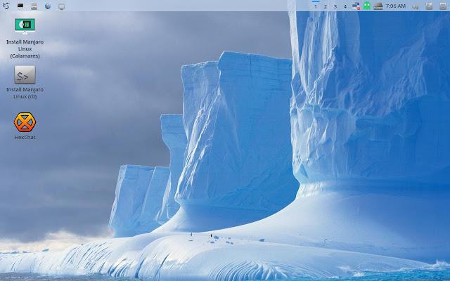 Manjaro LXQt Desktop