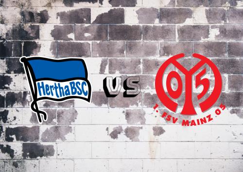 Hertha BSC vs Mainz 05  Resumen