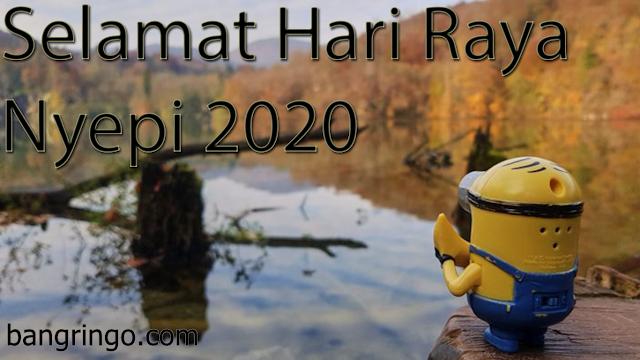 Selamat Hari Raya Nyepi 2020 - Minion Version