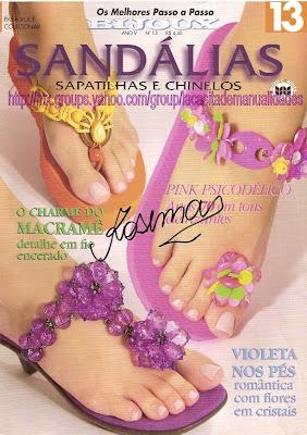 Revista: Sandálias. Sapatilhas e chinelos [Portugués]