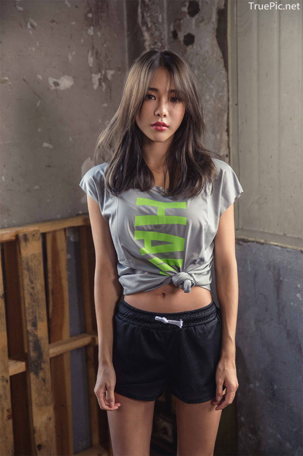 Korean Fashion Model - An Seo Rin - Active Fitnees Set Collection - TruePic.net - Picture 8