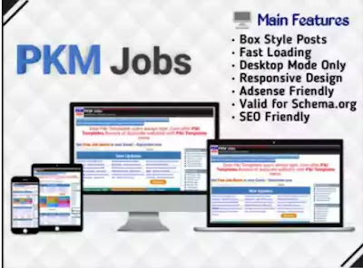 PKM Jobs Blogger Template