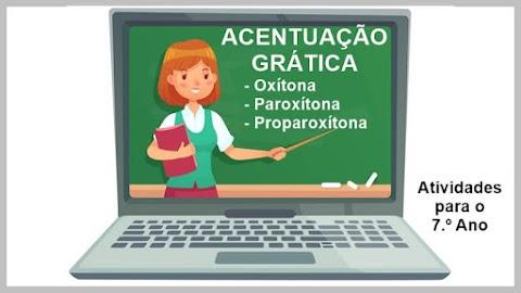 Folclore - Trava-língua - Acentuação Gráfica - Língua Portuguesa para o 7.º A