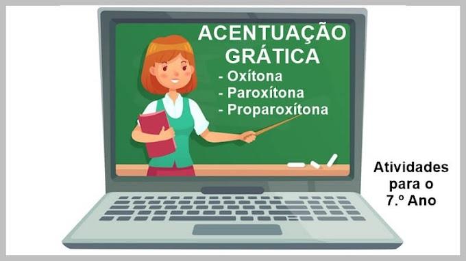 Folclore - Trava-língua - Acentuação Gráfica - Atividades de Língua Portuguesa para o 7.º A