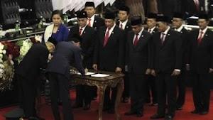 Presiden Jokowi Keluarkan Ancaman Reshuffle