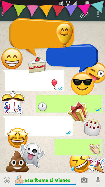 emojis invitación whatsapp silvanacraft