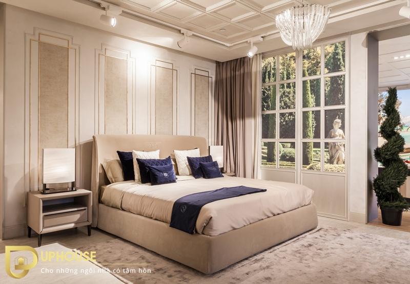 Thiết kế phòng ngủ tân cổ điển 01