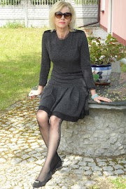 Sukienka z punto milano :)