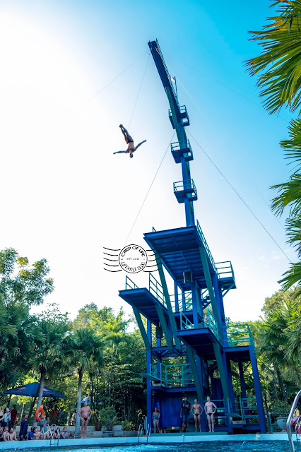 International High Dive Show launched at ESCAPE Water Theme Park Penang
