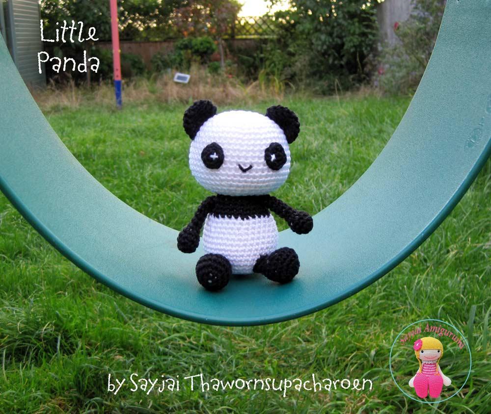 Panda Donut häkeln- kostenlose Amigurumi-Häkelanleitung | 844x1000