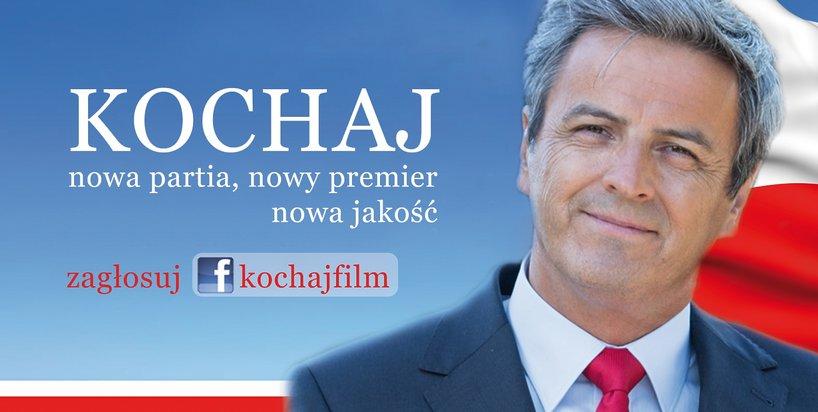 "Plakat filmu ""Kochaj"", czyli kolejne ""Love Actually"" po polsku | foto: Facebook / kochaj.film"
