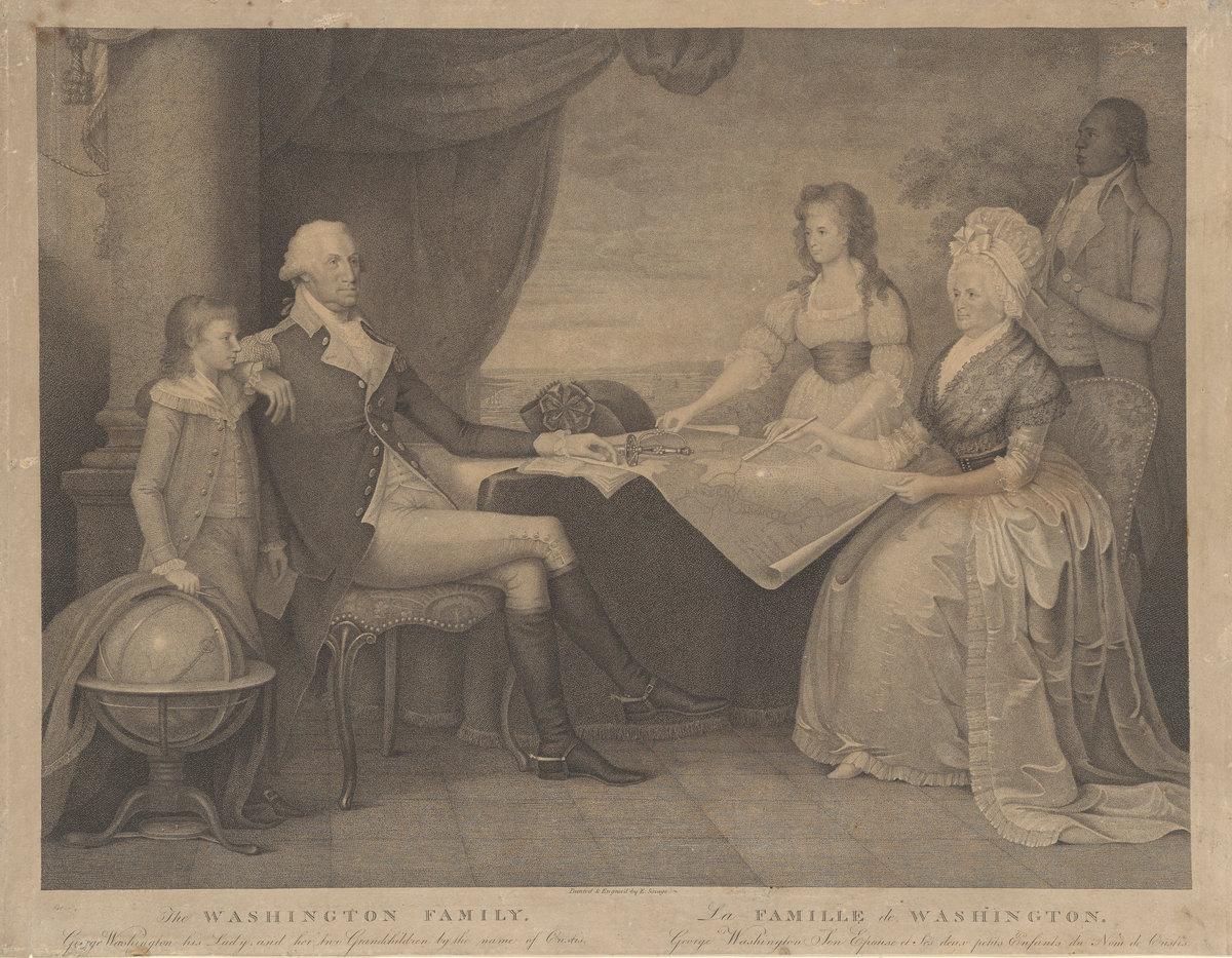 5cba2c666 Edward Savage  The Washington Family. Andrew Mellon Collection NGA
