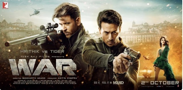 WAR full movie download in Hindi Dubbed HD 2.20GB & 1080p Free Download