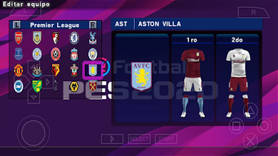 mod with new textures and save data based on PES  Update, eFootball PES 2020 PPSPP Android Mod Season 2019/2020