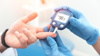 Imagen de como se mide el azúcar en sangre