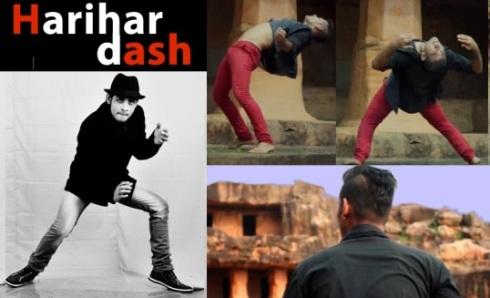 Harihar Dash performing dance on Sapna Jahan song
