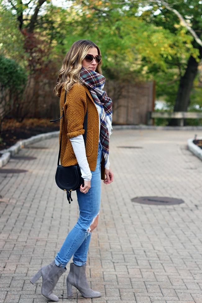 Marigold knit Cardigan
