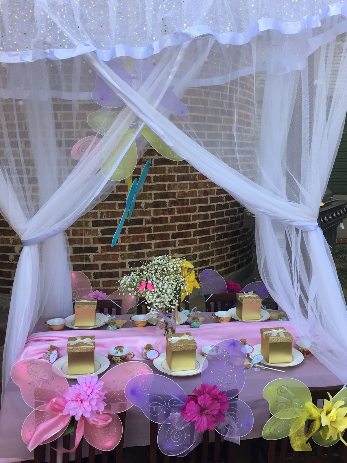 Mrs Party Planner How To Host An Outdoor Fairy Garden Party On A Budget