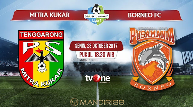 Prediksi Bola : Mitra Kukar Vs Pusamania Borneo , Senin 23 Oktober 2017 Pukul 18.30 WIB @ TVONE