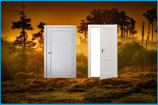 shaker interior door style