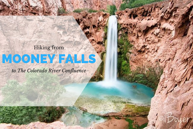 Hiking from Mooney Falls to the Colorado River!