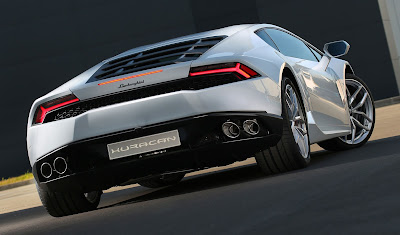 Lamborghini Huracan LP610-4 Spyder tail light hd image