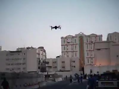 طائرات بدون طيار في قطر و الكويت لبث الرسائل التوعوية حول فايروس كورونا