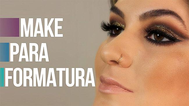 Maquiagem Para Formatura - Dicas como fazer maquiagem de Formatura Para Arrasar