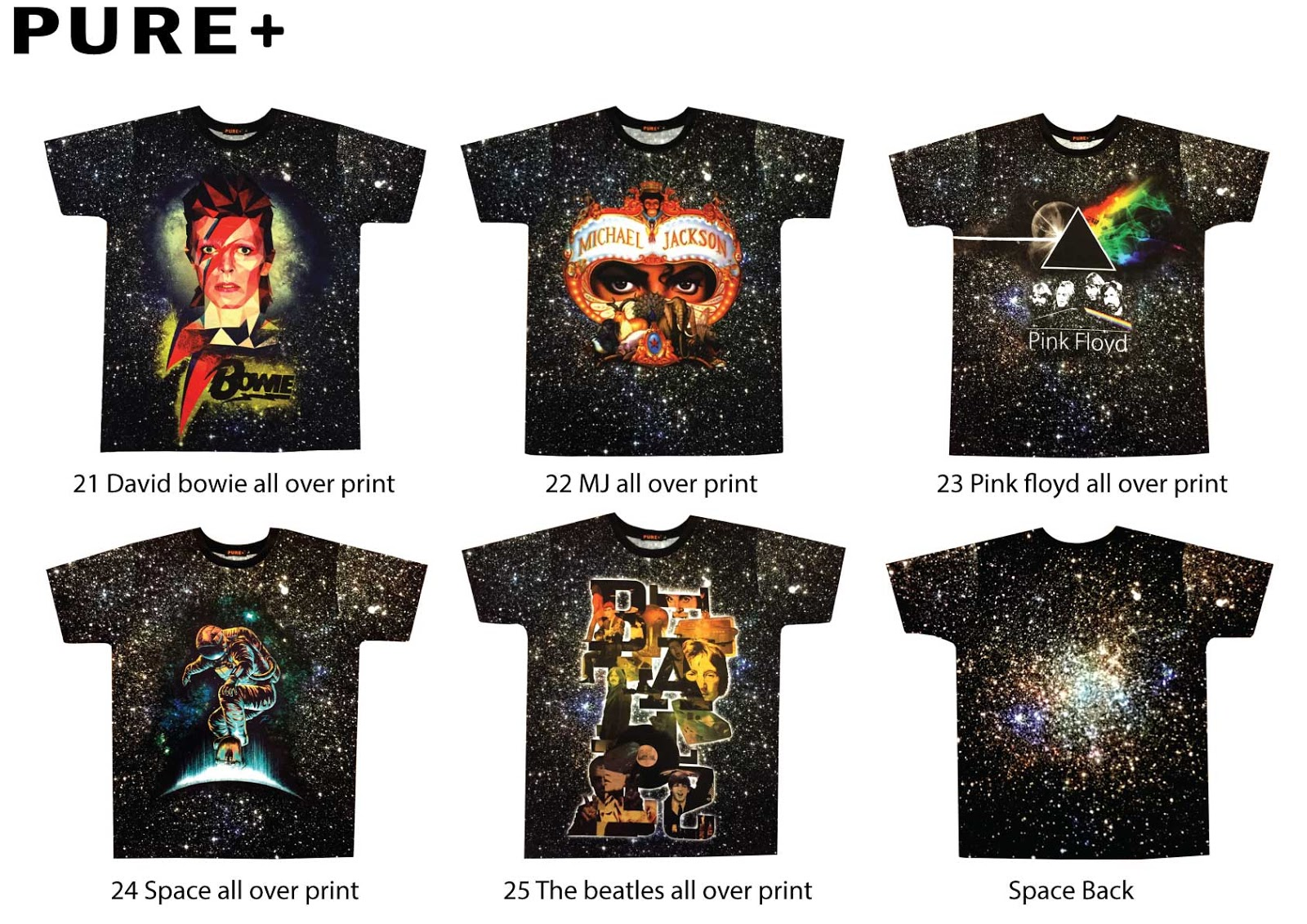 Pure Plus Pure All Over Print 3d T Shirt 21 25