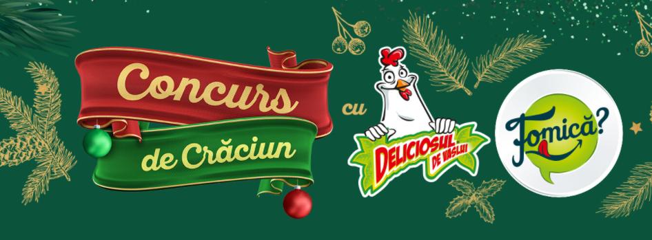 Concurs-Craciun-Deliciosul-Fomica - concursuri - online