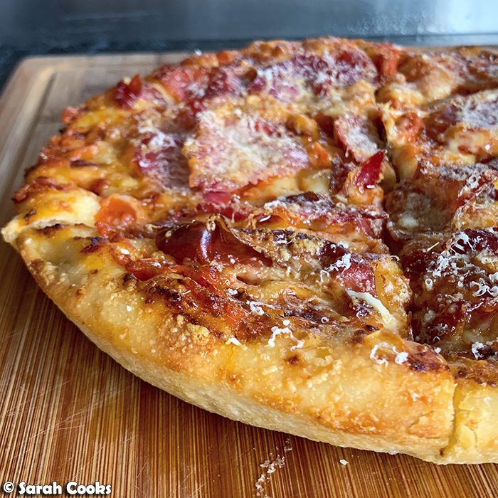 Serious Eats Foolproof Pan Pizza