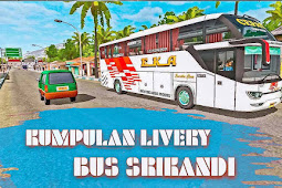 Livery Srikandi Terbaru 2019 game BUSSID