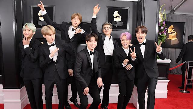 K-Pop Korea BTS Diundang Jadi Voter Grammy Awards