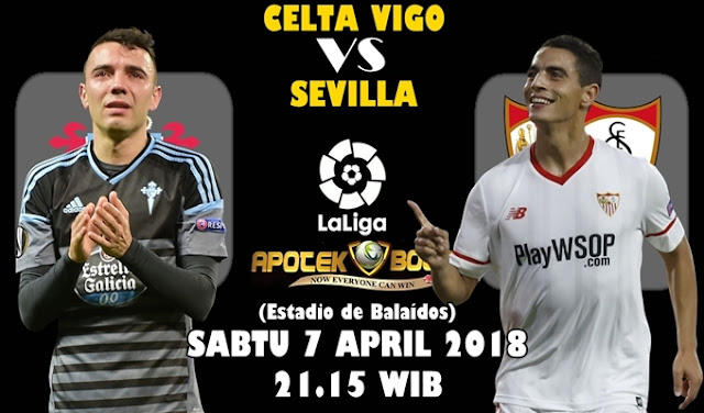 Prediksi Celta Vigo vs Sevilla 7 April 2018