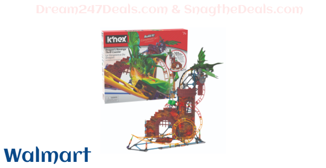 K'NEX Dragon's Revenge Thrill Coaster - 578 Parts - Roller Coaster Toy - Ages 9 and up