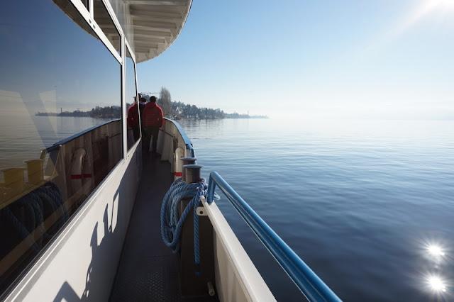 laivan kannella zürich järvi