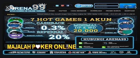 Judi Poker, Slot Dan Lainnya Dalam Satu Situs Terpercaya Asia